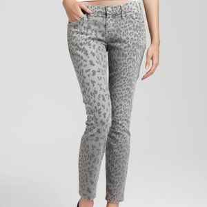 NWT Current/Elliott Stiletto Cheetah Print Jean